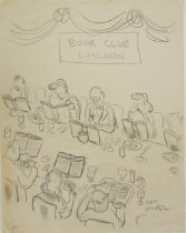 Image of Book Club Luncheon - Garel, Leo, 1917-